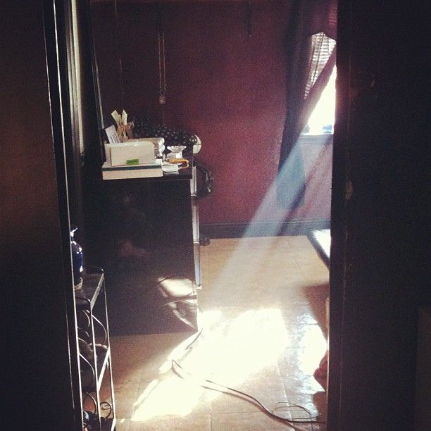The light coming in through my window. by laciebarbour, via Flickr