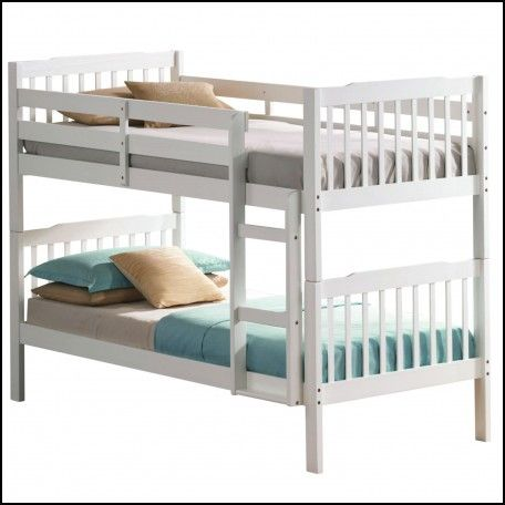 Cheap White Bunk Beds with Mattresses