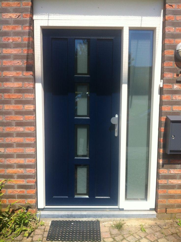 Kunststof-voordeur
