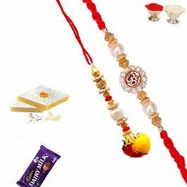 Buy Rakhi Online with Bhaiya Bhabhi Rakhi Set with Auspicious Rakhi from - http://www.rakhistoreonline.com/rakhi/bhaiya-bhabhi-rakhi/bhaiya-bhabhi-rakhi-set-with-auspicious-rakhi.html