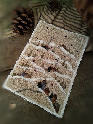 BRIAR COTTAGE STUDIO: Tree Tops Punch Needle Pattern