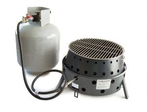 8. Volcano Grills- portable stove for camping