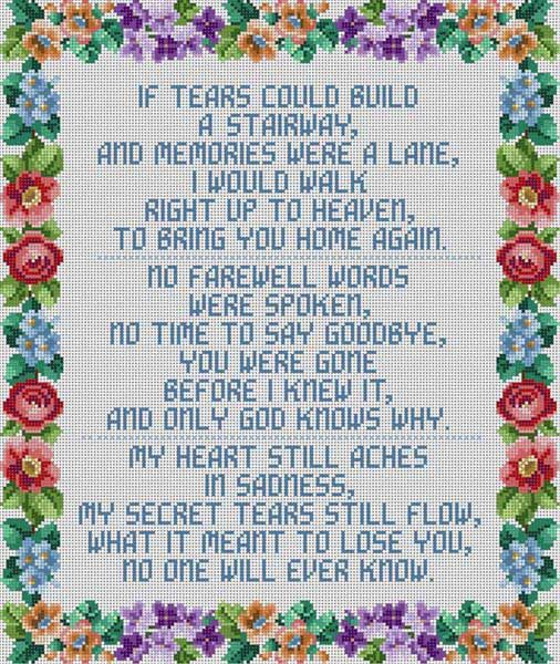If Tears Could Build