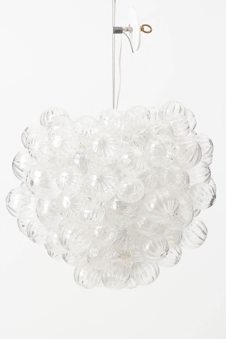 Anthropologie's Bubbling Glass Chandelier