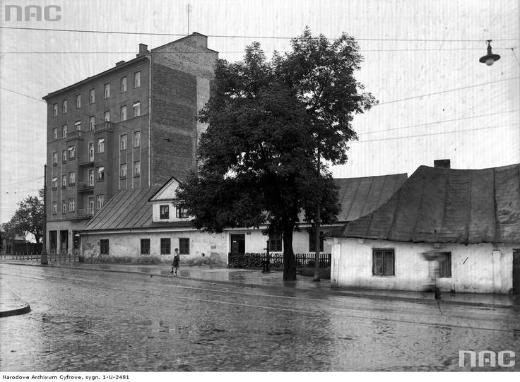 Ulica Tadeusza Kościuszki, 1933.