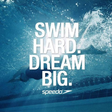Swimming sayings pin it 7 like 1 image swimming pinterest swim back to and dream big for Swimming pool meaning in dreams