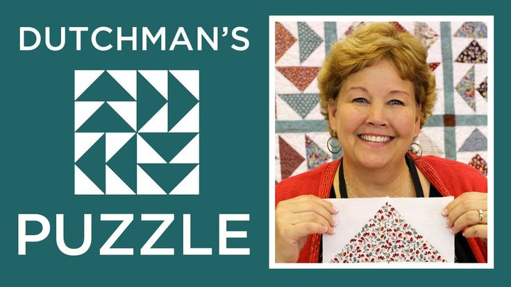 The Dutchman's Puzzle Quilt: Easy Quilting Tutorial with Jenny of Missou...