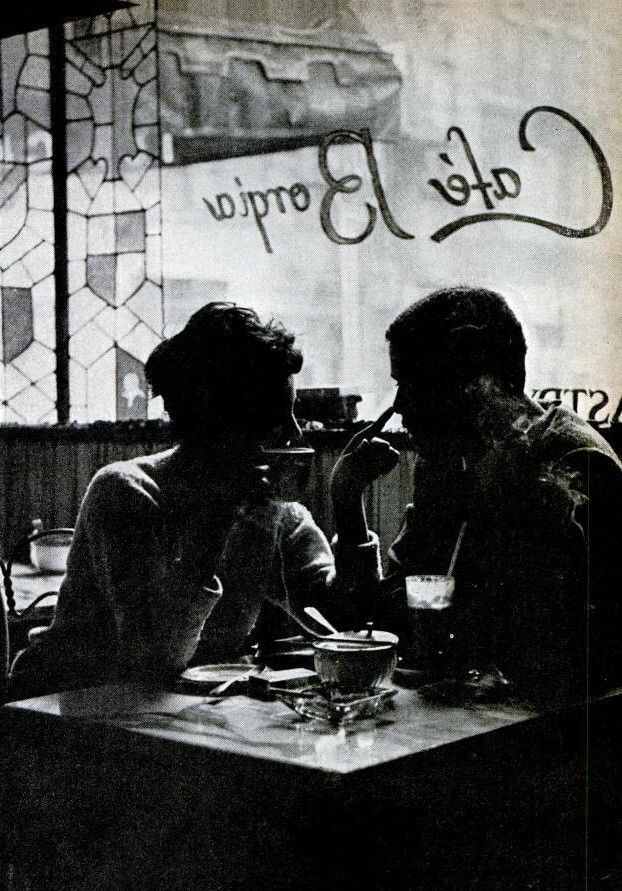 : Quality Time, Date Night, Cane Memorial, Messy Hair, Memorial Lovers, Black White, Couple, Cafe K-Cup, Photo