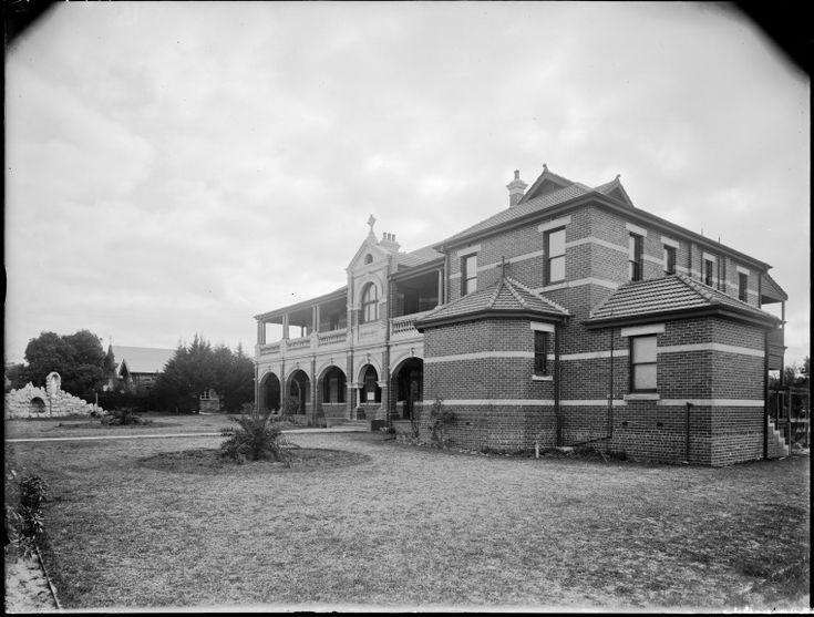 100833PD: Convent of Mercy, Victoria Square, Perth, 1929.  https://encore.slwa.wa.gov.au/iii/encore/record/C__Rb3473459