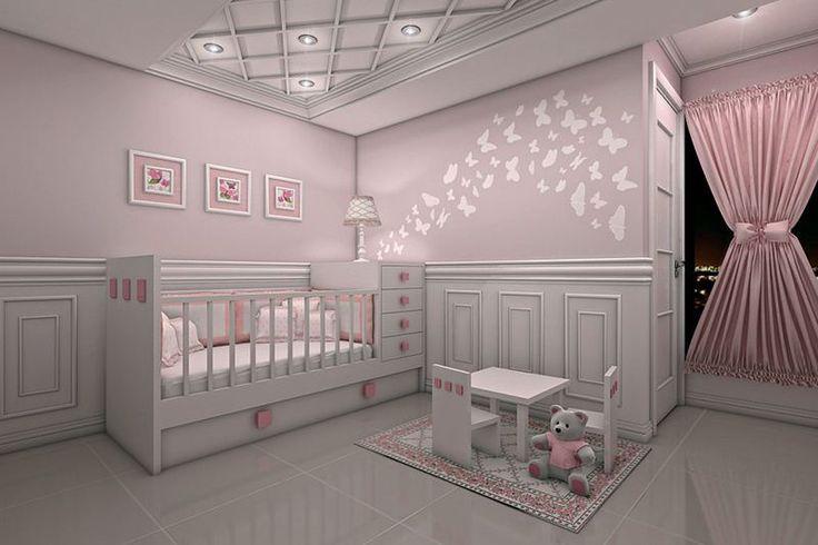 Setiap calon orang tua pasti tidak hanya akan membeli pakaian dan mainan bayi tapi tentu saja beberapa dekorasi untuk desain kamar tidur bayi.
