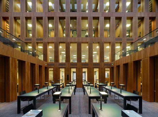 Jacob-und-Wilhelm-Grimm-Zentrum in Berlin by Max Dudler Architects
