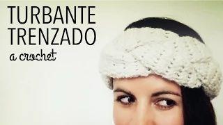 Turbante / Banda en TRENZA a Crochet - Paso a Paso - YouTube