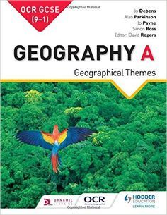Debens, J., Parkinson, A., Payne, J. & Ross, S. (2016) OCR Geography A: Geographical Themes. London: Hodder Education