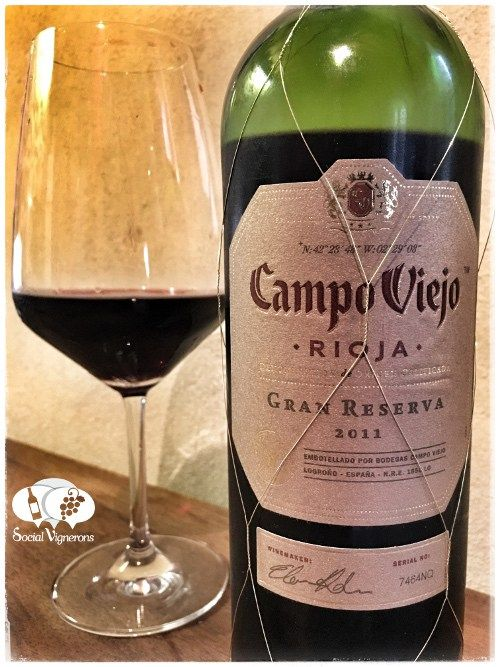 Score 92+/100 Wine review, tasting notes, rating of 2011 Campo Viejo Gran Reserva, Rioja. Description of aroma, palate, flavors. Join the experience.