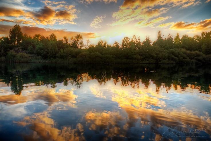 Valdivia River By Charles Brooks