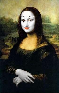 Mona Mime -- Mona Lisa Parodies #Joconde