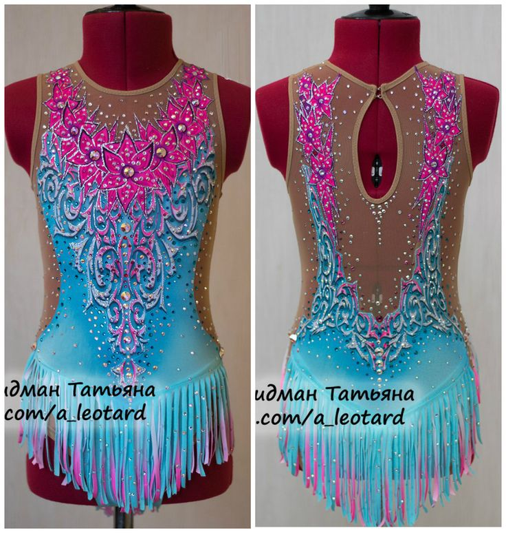 Rhythmic gymnastics leotard by Tatiana Fridman