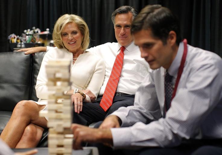 Romney w dniu pierwszej debaty