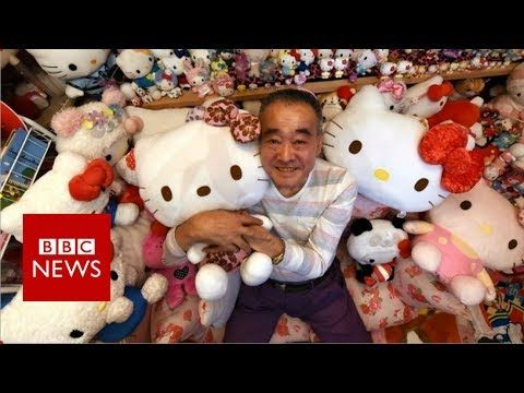 Masao Gunji, 67, was recognised by Guinness World Records last November for having the largest collection of Hello Kitty memorabilia. Please subscribe HERE h...