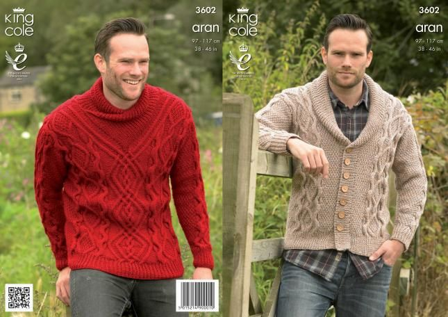 3602 | Knitting Patterns | Sweater and Cardigan