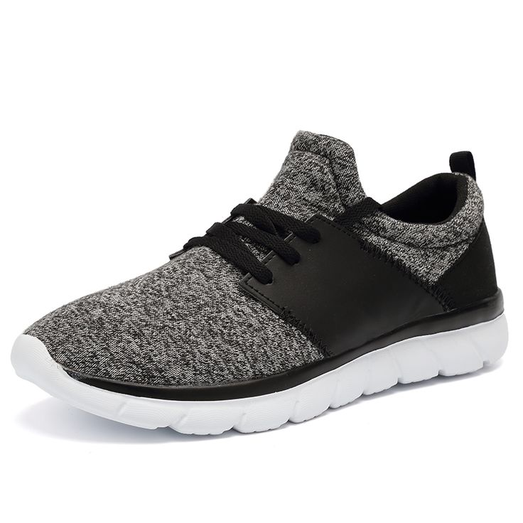 ==> [Free Shipping] Buy Best Mens Trainers 2017 Top Brand Spring/Summer Running Sneakers Sale Black/Gray Quality Mens Shoes Brands Sport Athletic Tainers Online with LOWEST Price | 32790893568