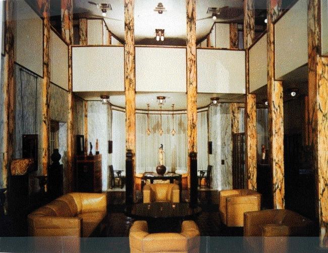 Palais stoclet architecte hoffmann d cor int rieur for Formation decoration interieur belgique