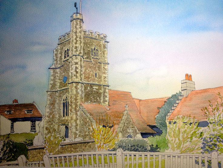 Monken Hadley Church