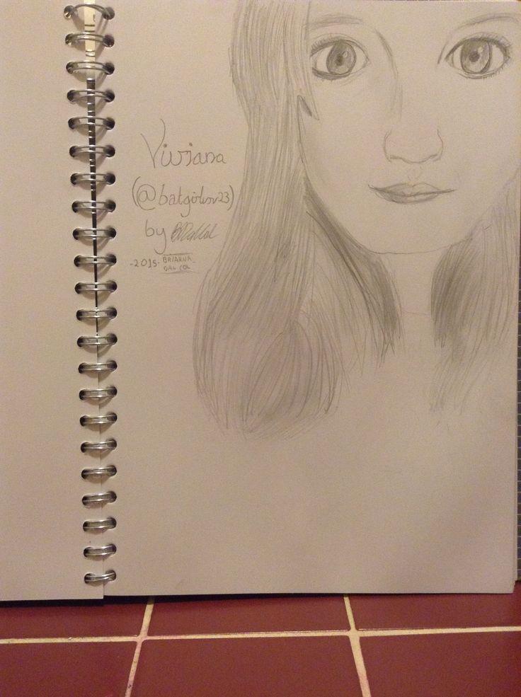 My Drawing of @batgirlvrv23 :)