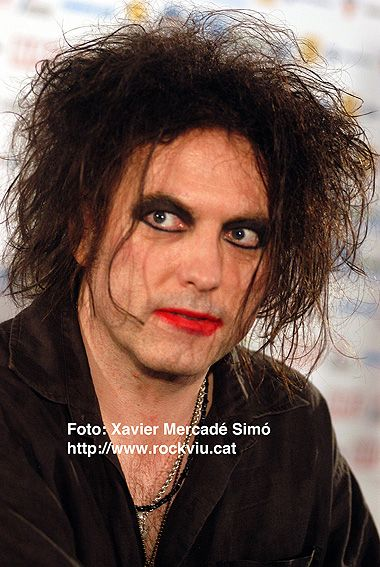 the cure lead singer biography
