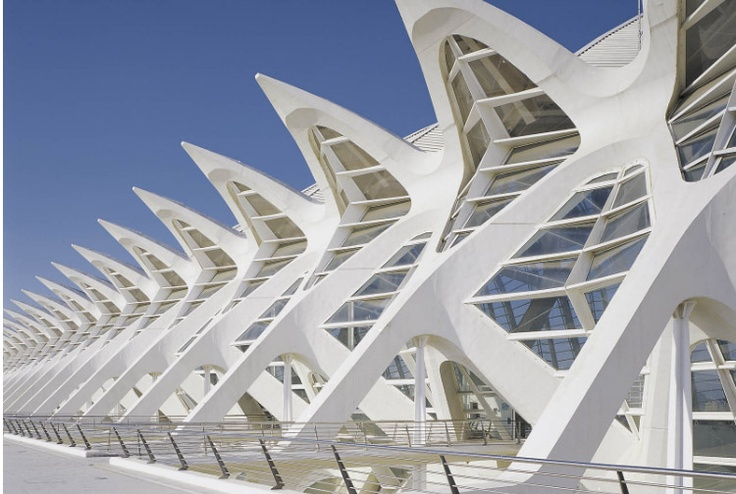 Santiago Calatrava Planetarium Science Museum And L