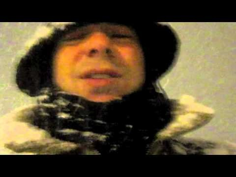BLIZZARD IN ROME!!!! holy snow storm Batman! LOL
