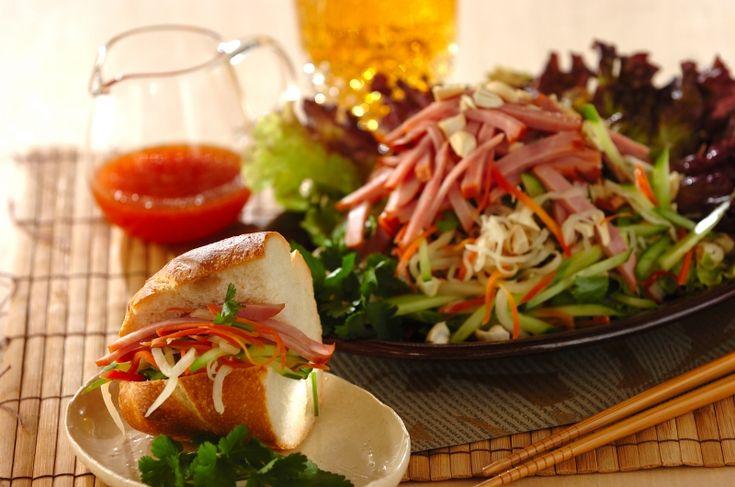 なますのエスニックサラダ【E・レシピ】料理のプロが作る簡単レシピ/2016.12.19公開のレシピです。