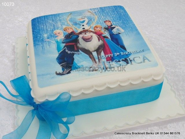 Images Of Frozen Character Cake : printed images on cakes - Google Search Cakes ...