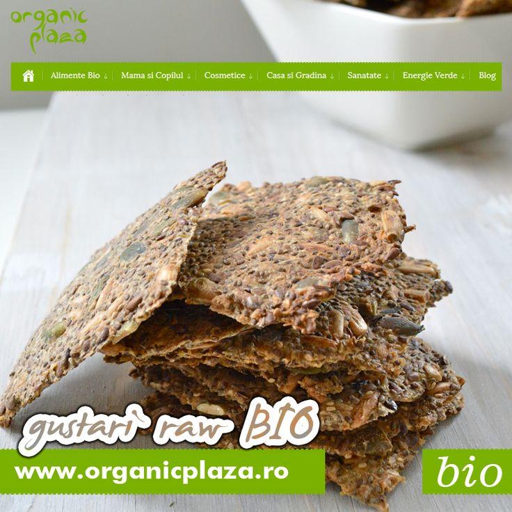 Paine Raw Bio, foarte multe sortimente! Descopera-le mai jos: http://organicplaza.ro/paine-raw