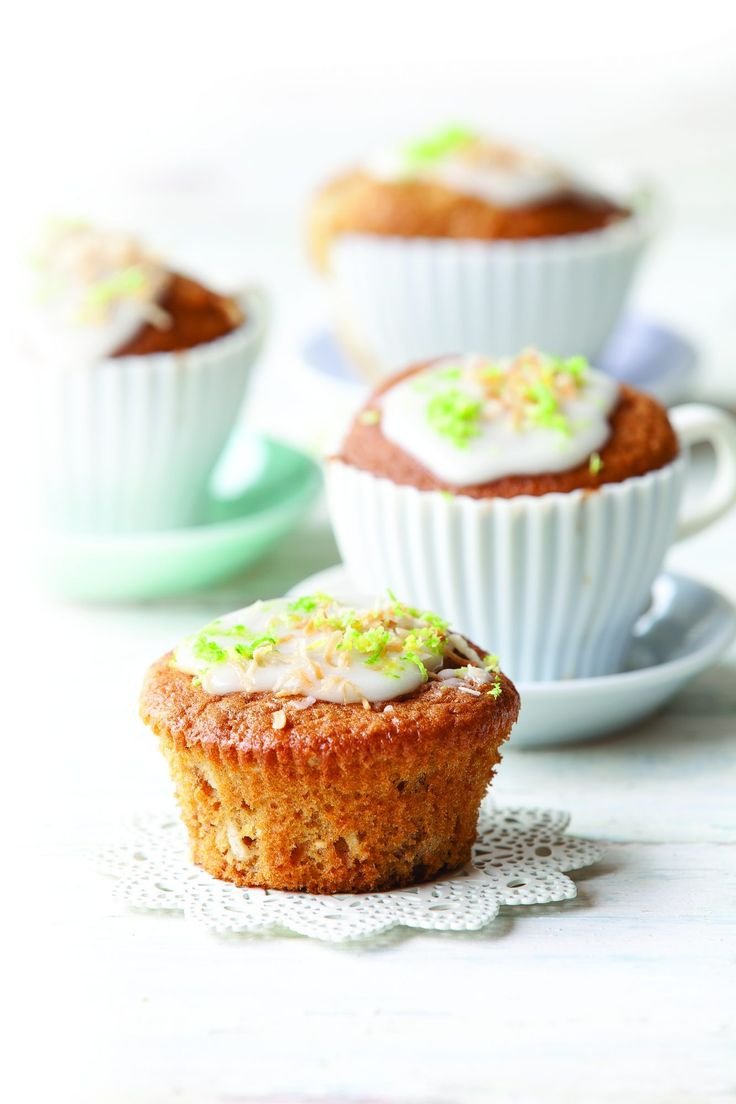 Feijoa coconut muffins