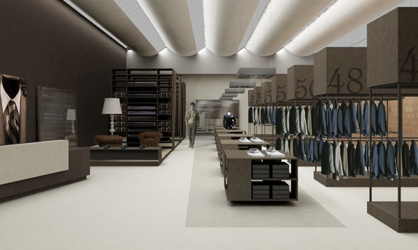 Structure clothing store