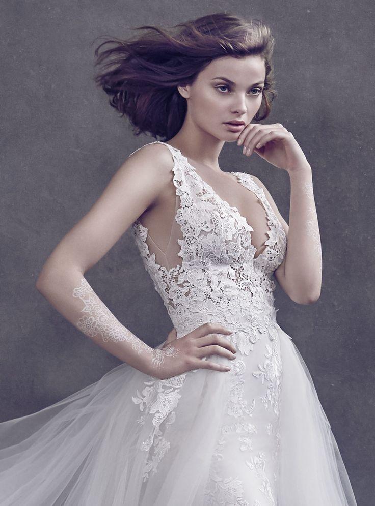 24 besten Best of Lazaro Bilder auf Pinterest | Hochzeitskleider ...
