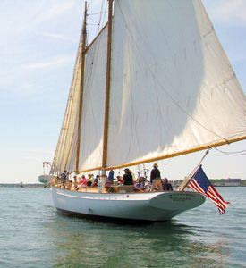 Portland Maine's vacation and lodging guide - www.VisitMaine.net  #MaineSailing #CascoBay