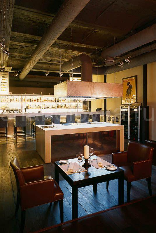 кухня интерьер в стиле лофт / loft interior design Архитектурное бюро Шаболовка