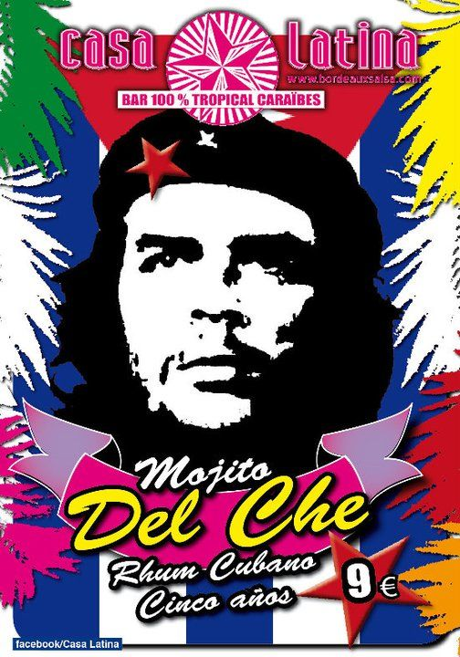 le mojito du chè, c'est vraiment le best of avec les meilleur rhum cubain , rhum brun 5 ans le cocktail phare de CASA LATINA, qui fait vibrer les papilles et visiter Cuba avec tous ses parfums !!!!