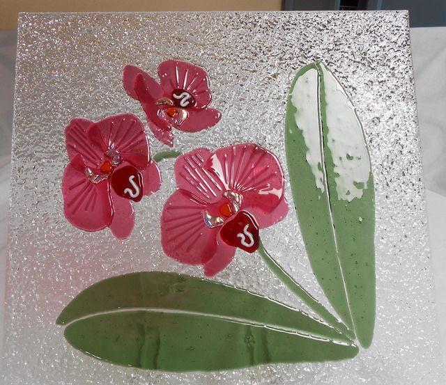 Ginny's Fused Orchids - 06   Flickr - Photo Sharing!