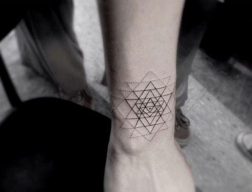 sri yantra tattoo - Google Search