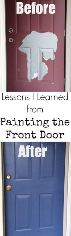 I've wanted to paint my front door for SO long. Great ideas!
