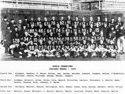 1963 ~ Chicago Bears (vs. New York Giants) ~ http://en.wikipedia.org/wiki/1963_NFL_Championship_Game