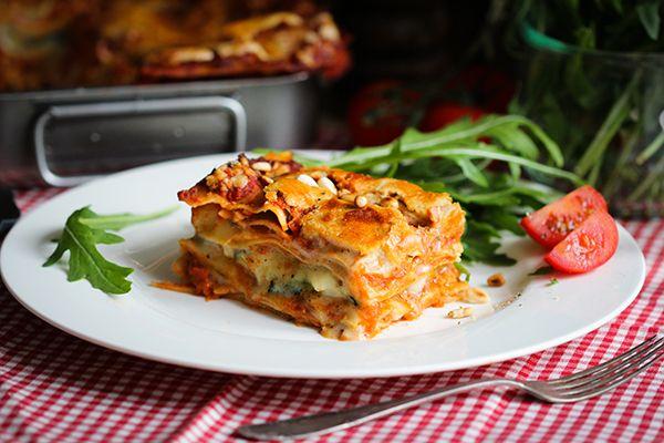 Cremig-vegane Lasagne
