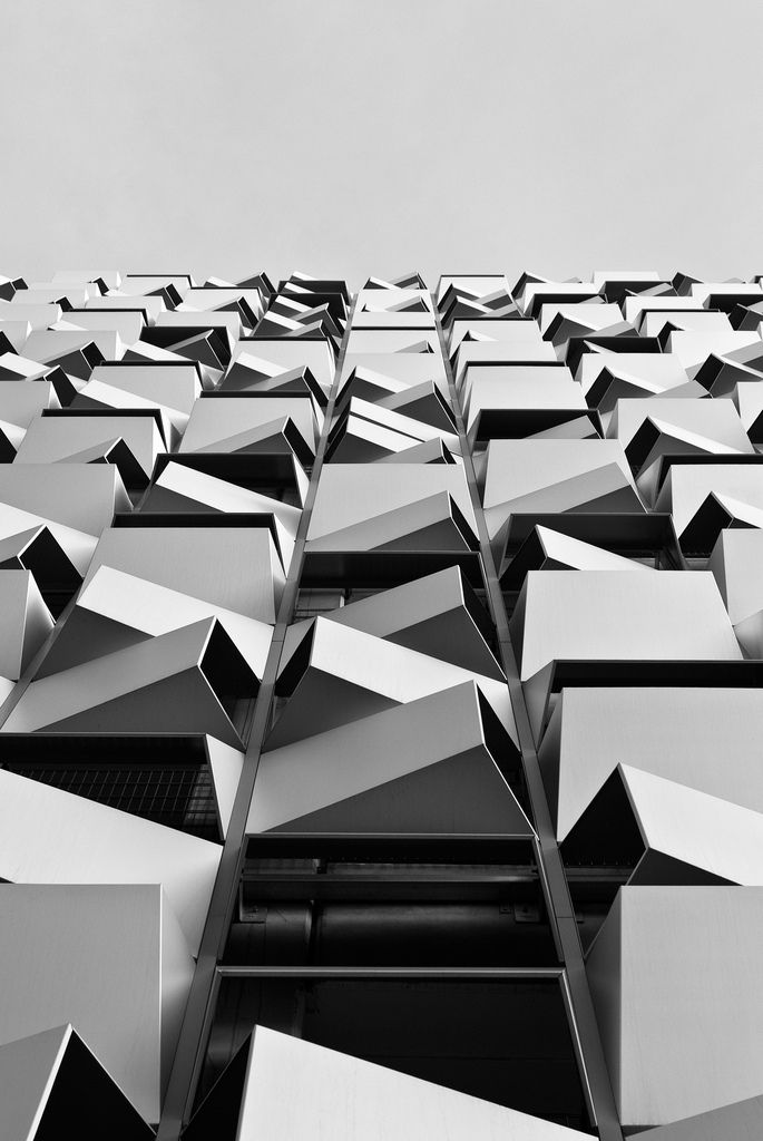 Charles Street Car Park by Allies and Morrison Architects.