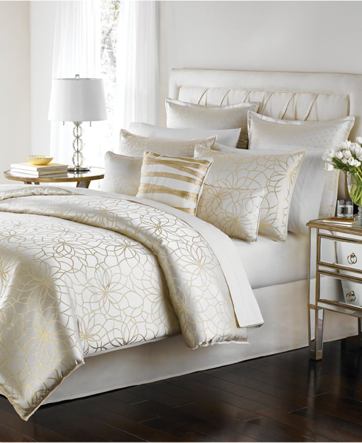 Martha Stewart Collection Radiant Day 9 Pc Comforter Set Comforters Down Alternative Bed