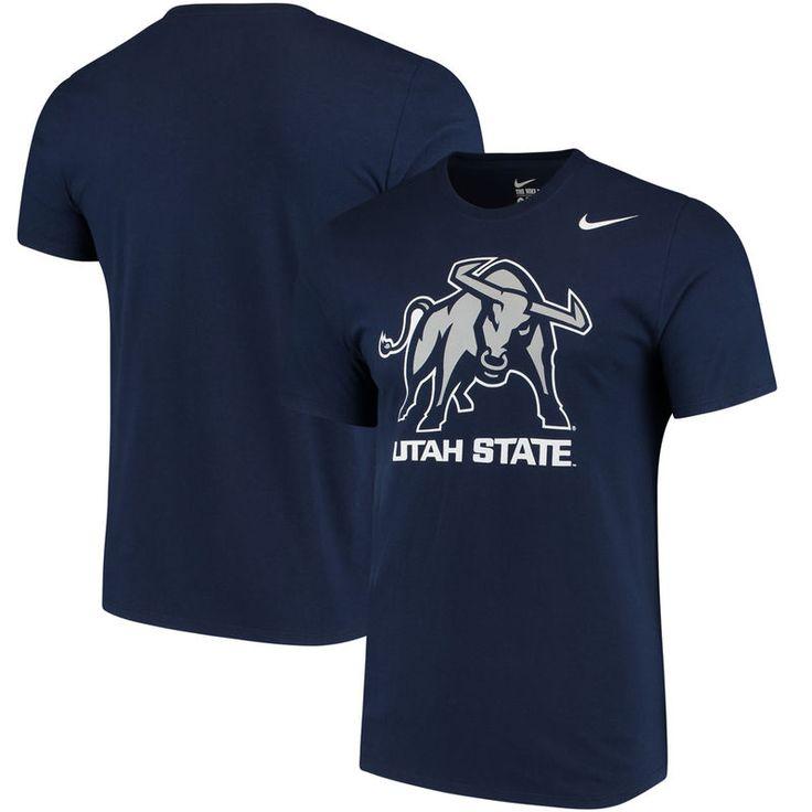 Utah State Aggies Nike Big Logo T-Shirt - Navy