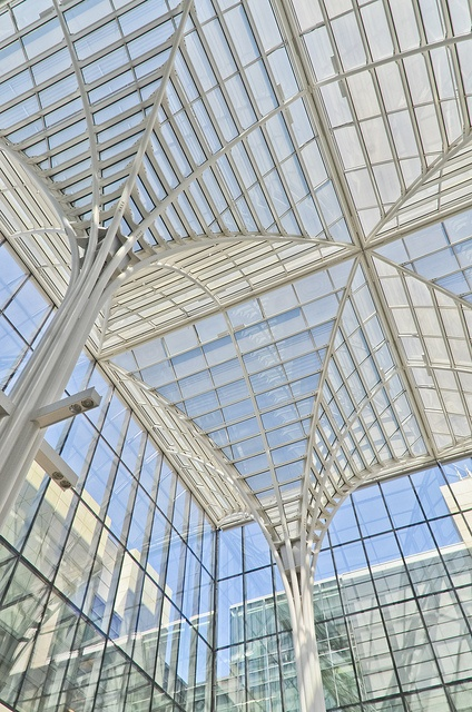 Charles M. Harper Center, Booth Winter Garden, University of Chicago, 2004 Rafael Vinoly Architects
