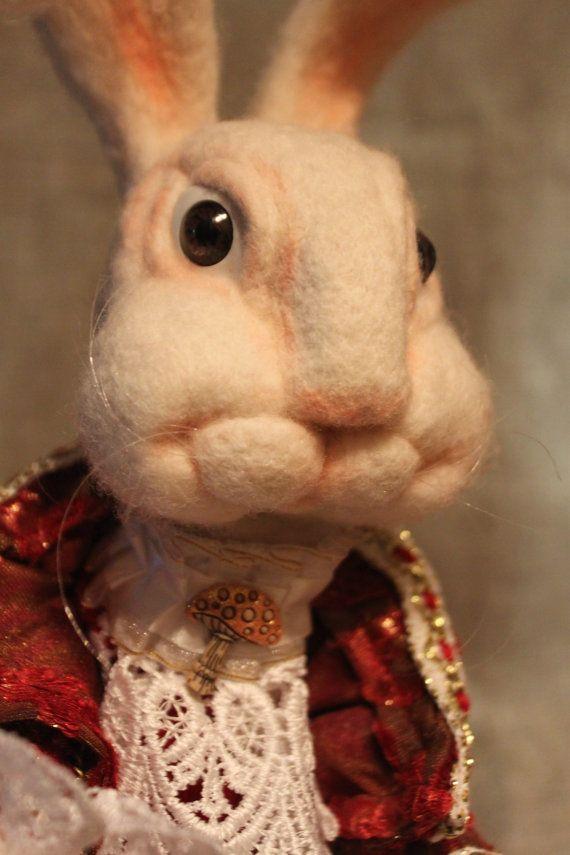 White Rabbit от ArtKotyur на Etsy